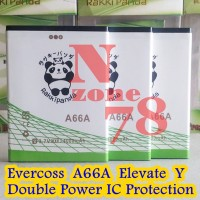 Baterai Cross Evercoss A66a Rakkipanda Double Power