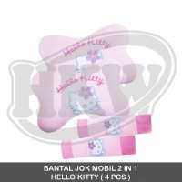 BANTAL JOK MOBIL 2 IN 1 HELLO KITTY