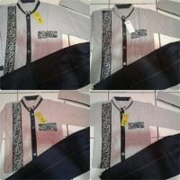 Jual Baju koko anak motif garis + celana jeans + kopiah Murah