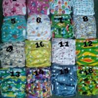 clodi / clodi babyland 2 insert microfiber / cloth diaper / popok kain