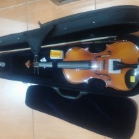 Biola / Violin Akustik Sandner J.S Bach 300P + Bow + Tas + Rosin Ori