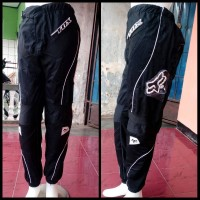 Celana cross Trail Adventure Trabas Downhill hitam panjang