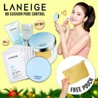 Jual (Original) Paket LANEIGE BB Cushion Pore Control No.23 Sand Beige Murah