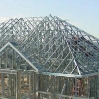 kanopi / canopy Rangka Baja ringan atap spandek Zing / Genteng Metal