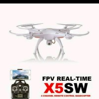Jual RC DRONE Syma X5SW Wifi FPV 2.4G RC Quadcopter 2.0MP Camera RTF Murah