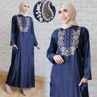 maxy Tiara combi bordir jeans denim Verlando Oscar fashion