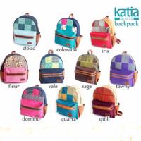 LIMITED Tas Ransel Vintage Katia Tawny / Tas Kuliah Cewe / Tas Laptop