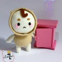 Boneka drama korea Goblin Mr. Buckwheat Bogle Gel (Bagcharm)