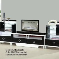 cabinet tv / rack tv minimalis / buffet tv import