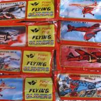 Mainan Kapal Kapalan Bisa Terbang / Power Prop Flying Gliders