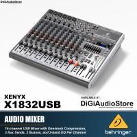 Audio Mixer BEHRINGER Xenyx X1832 USB Audio Mixer with Soundcard