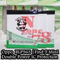 Baterai Oppo Blp563 Find5 Mini R827 Rakkipanda Double Power