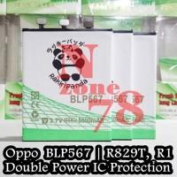 BATERAI OPPO BLP567 R829T R1 R8007 R1 R8000 RAKKIPANDA DOUBLE POWER