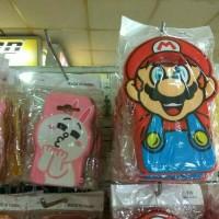 Softcase 3d tebal Mario bros Line Samsung galaxy j3 dan j5