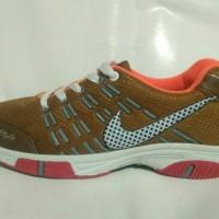 Sepatu Badminton, Voli, Lari, Nike Air Max - Coklat Gold