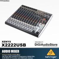 Behringer X2222USB [ X 2222 USB ] Audio Mixer with Soundcard recording
