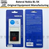 Batre / Baterai / Batrai / Battery Nokia C7 BL-5K / BL5K ORI
