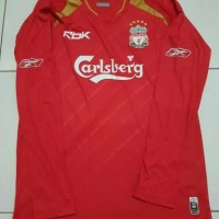 jersey retro grade AAA thailand liverpool home 2005 ls ucl version