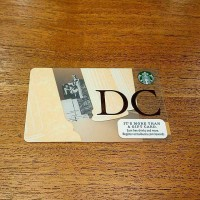 Starbucks Card Washington DC