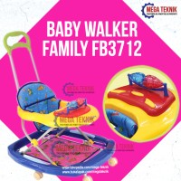 Harga baby walker kereta dorong bayi belajar jalan family | Pembandingharga.com
