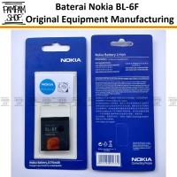 Baterai Nokia BL-6F / BL6F N95 8GB Original | Batre, Batrai, 8 GB OEM