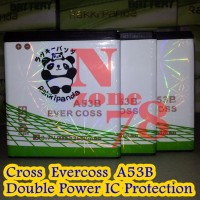 Baterai Cross Evercoss A53b A5p A12b A35b Double Power Protection