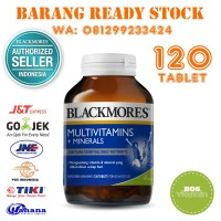 Harga blackmores multivitamins minerals bpom kalbe 120 | Pembandingharga.com