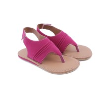 Suede Pink, sandal flat anak perempuan, distro TDLR Cuteswear, GXBX