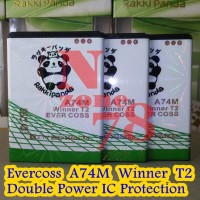 Baterai Cross Evercoss A74m Winner T2 Double Power Protection