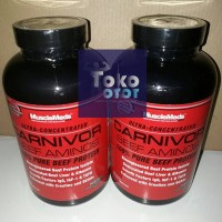 Carnivor Beef Aminos 300 Tablets MUSCLE MEDS Beef Amino Carnivor