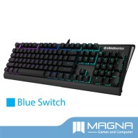 SteelSeries Apex M650 Mechanical Gaming Keyboard [Grey] - Blue Switch