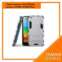 Case Ironman Lenovo A7000 / A7000 Plus Series With Kick Stand