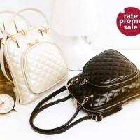 Harga tas fashion backpack mini ransel wanita elegant leather | Pembandingharga.com