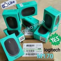 Jual Logitech M170 ORIGINAL - wireless mouse - Garansi Resmi Murah Ekonomis Murah