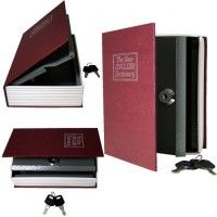 Jual Brankas Rahasia Bentuk Buku Brankas Hidden Safe Clock Penyimpan Emas Murah