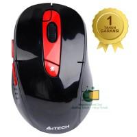 harga A4tech Mouse G11-570fx Wireless, 7 Buttons, Rechargable, Merah, Ori Tokopedia.com