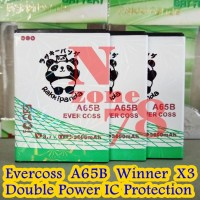 Baterai Cross Evercoss Winner X3 A65B Double Power IC Protection