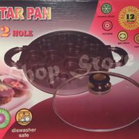 Cetakan Kue|Snack Maker 12 Holes Motif|STAR PAN + Buku Resep