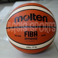 Bola Basket Molten GL7X FIBA OFFICIAL GAME BALL