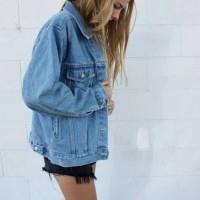 Jual Jaket Jeans Levis Bio Biru Oversize Men and Women Premium Quality Murah