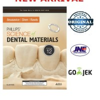 Phillips Science of Dental Materials 12th edition / ed 12