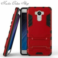 Case Xiaomi Redmi 4 Prime Casing Robot Ironman Pelindung Hp Anti Lecet