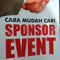 Buku Cara Mudah Cari Sponsor Event
