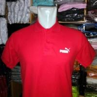 Polo shirt Kaos kerah puma Red Terlaris realpict