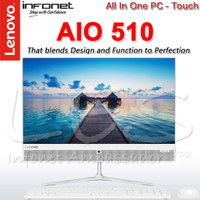 "LENOVO AIO 510 Core i5-6400T ; 21.5"" FHD TOUCH ; All-In-One PC (RESMI)"