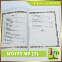 MD176   Blangko Yasin Polos Media Dzikri 176 Hal. Mate Paper.
