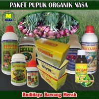 Jual Paket Pupuk Budidaya Bawang Merah Organik Nasa Lengkap Murah