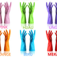 Sarung Tangan HouseHold Latex Gloves