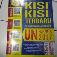 KISI KISI UN SMP 2017