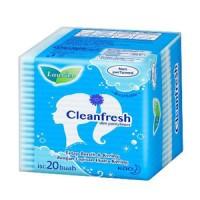 Laurier pantyliner clean fresh non parfum 20 pads